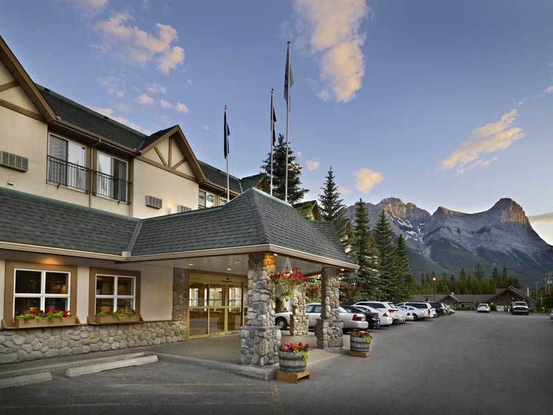 Eingang Hotel Canmore